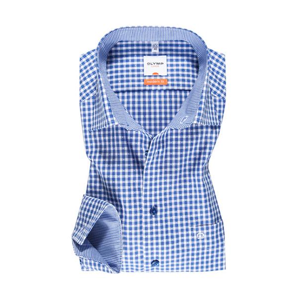Overhemd Modern Fit - Spread - Royal 1310
