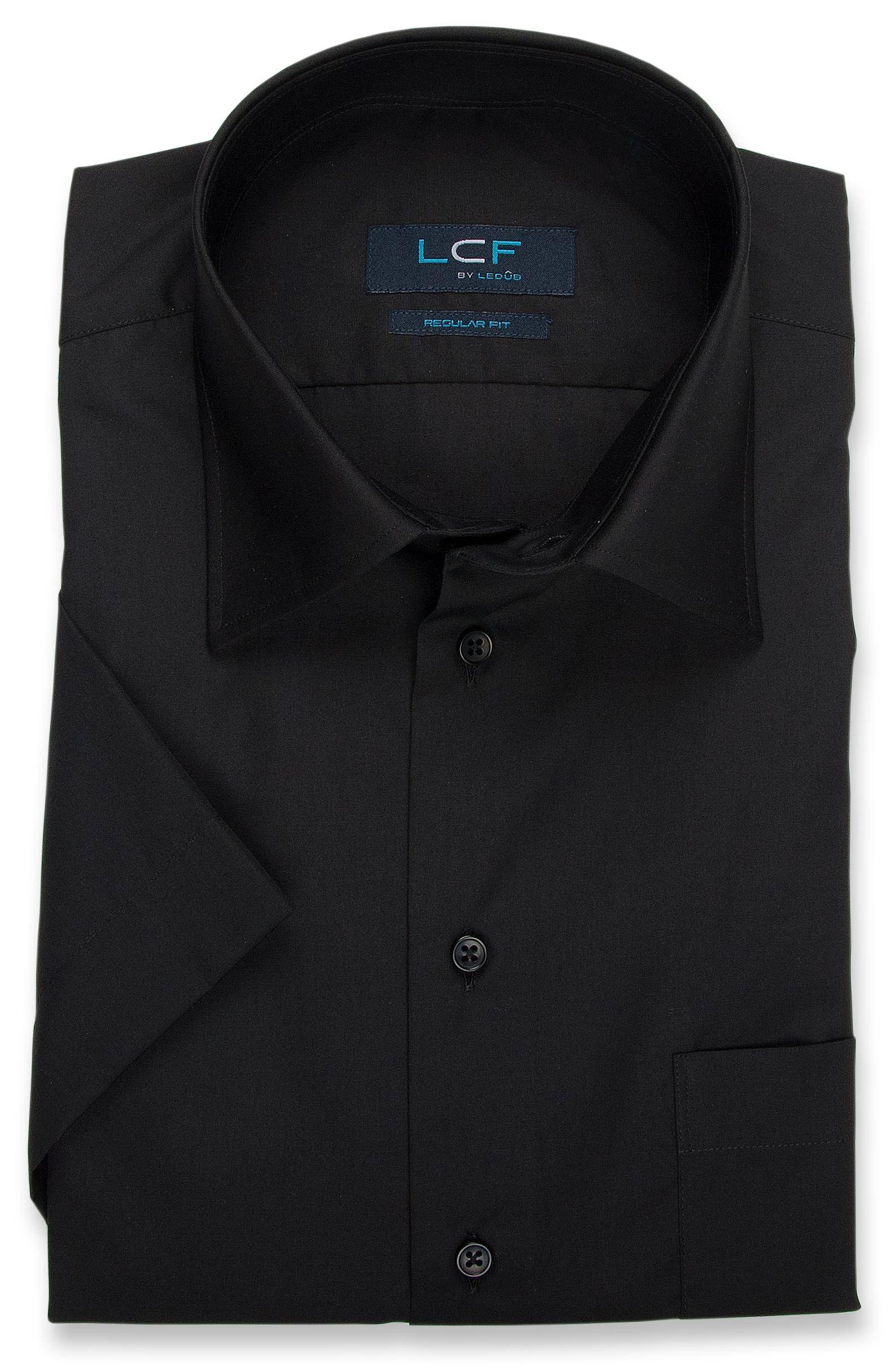 Overhemd Regular fit - Semi Spread - Zwart 8008022