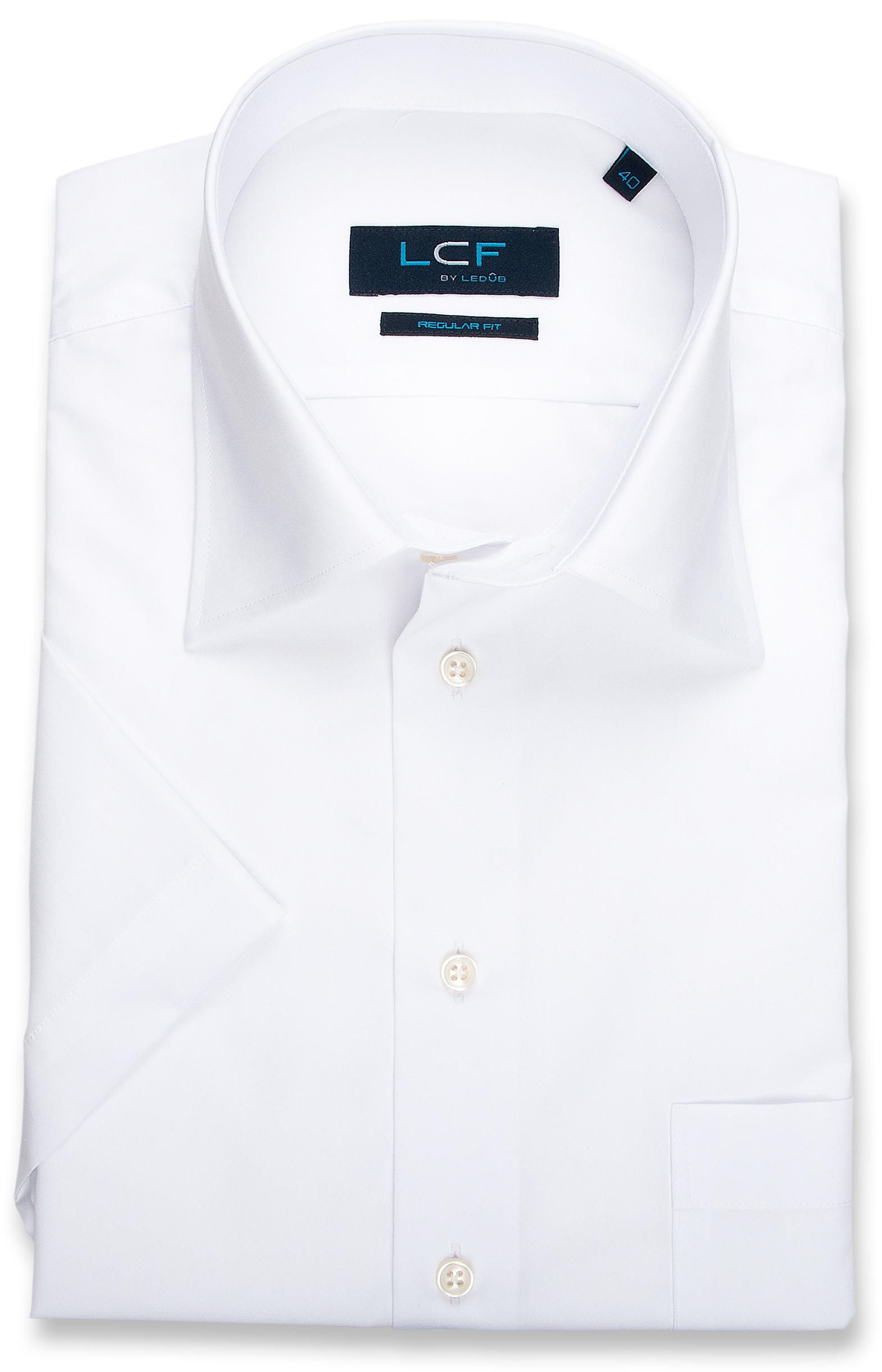 Overhemd Regular fit - Semi Spread - Wit 8008022