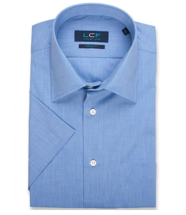 Overhemd Modern fit - Semi Spread - Blauw 8028019