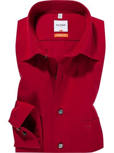 Overhemd Modern Fit-New Kent-rood