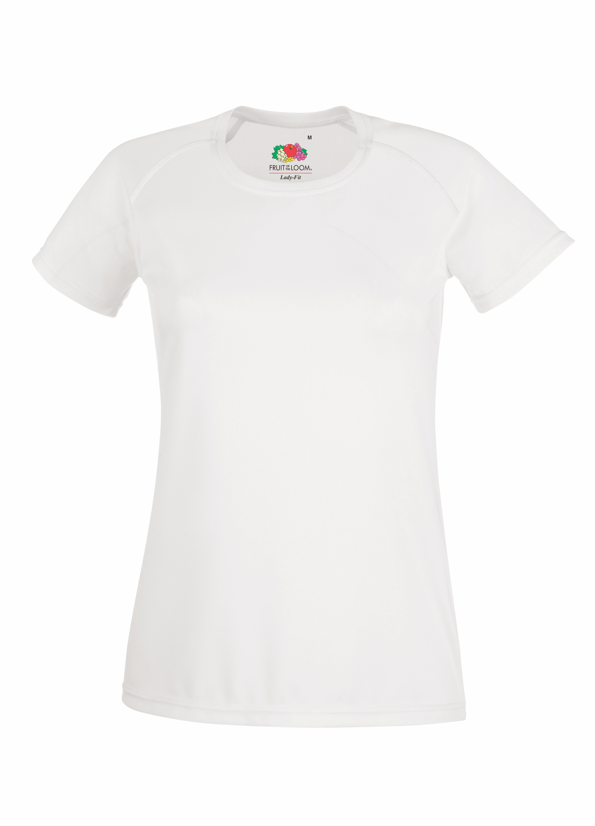 Lady fit performance T - White - XL