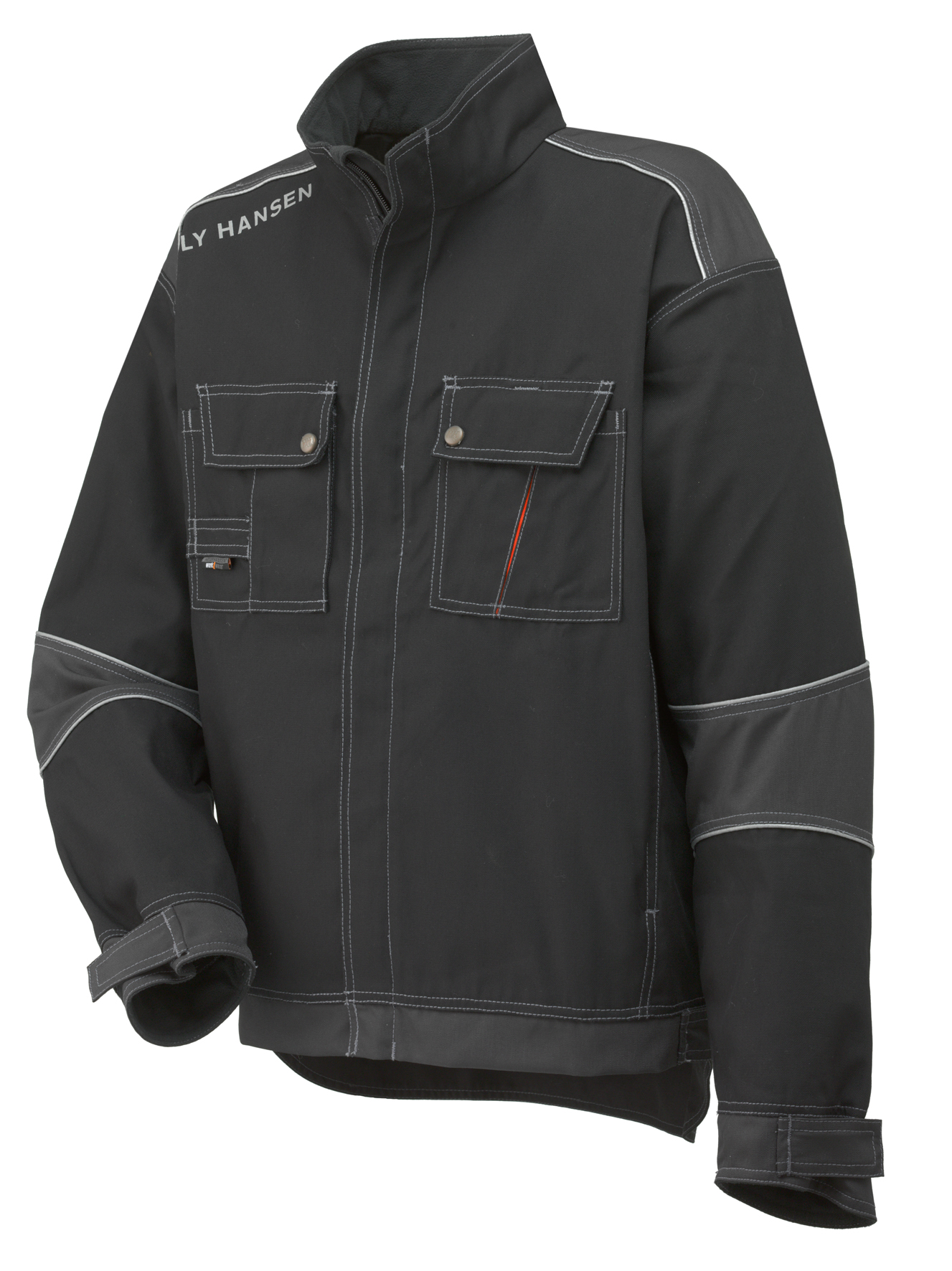 Chelsea Lined Jacket - Black/Charcoal - S