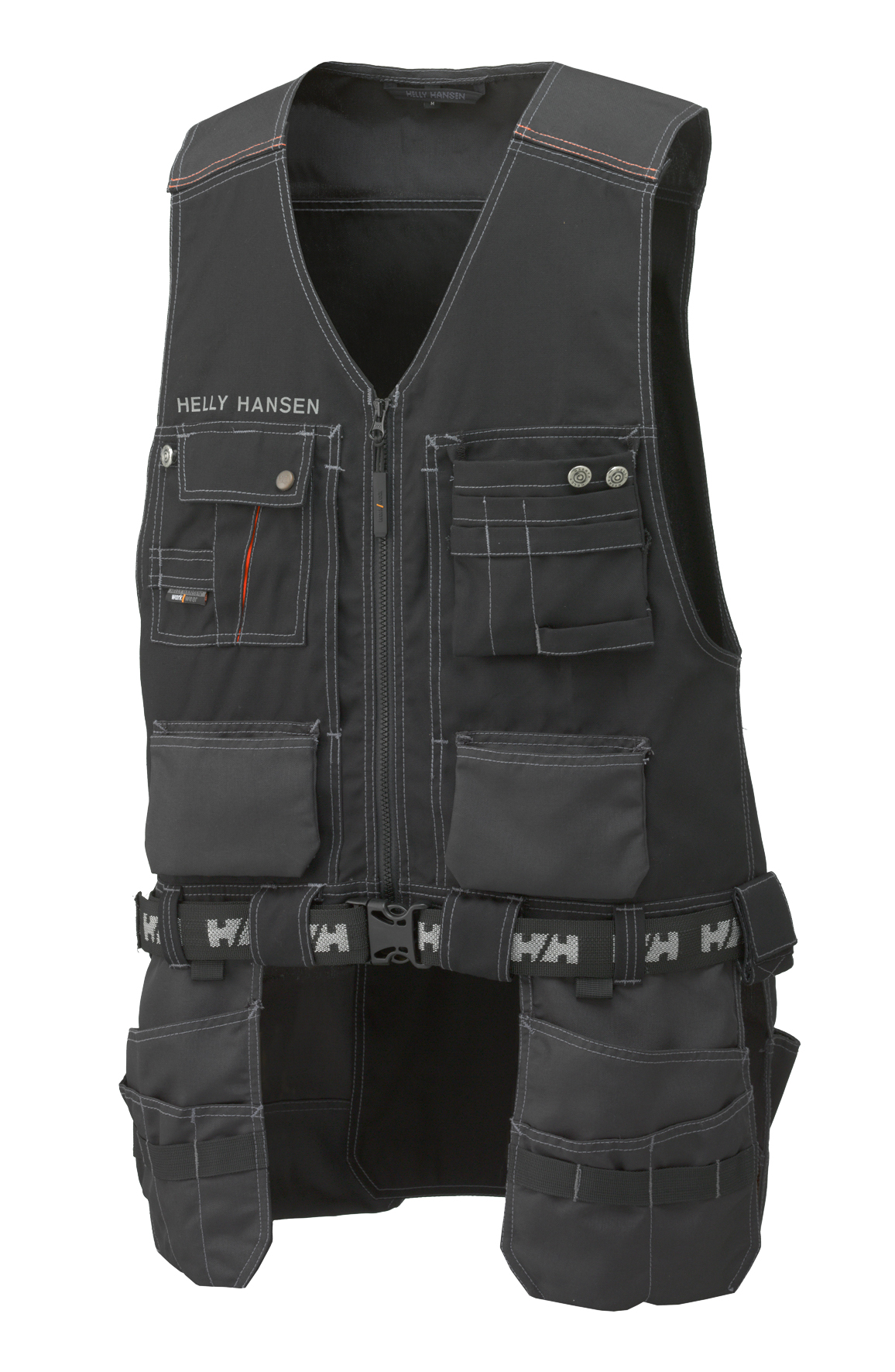 Chelsea Construction Vest - Black/Charcoal - S