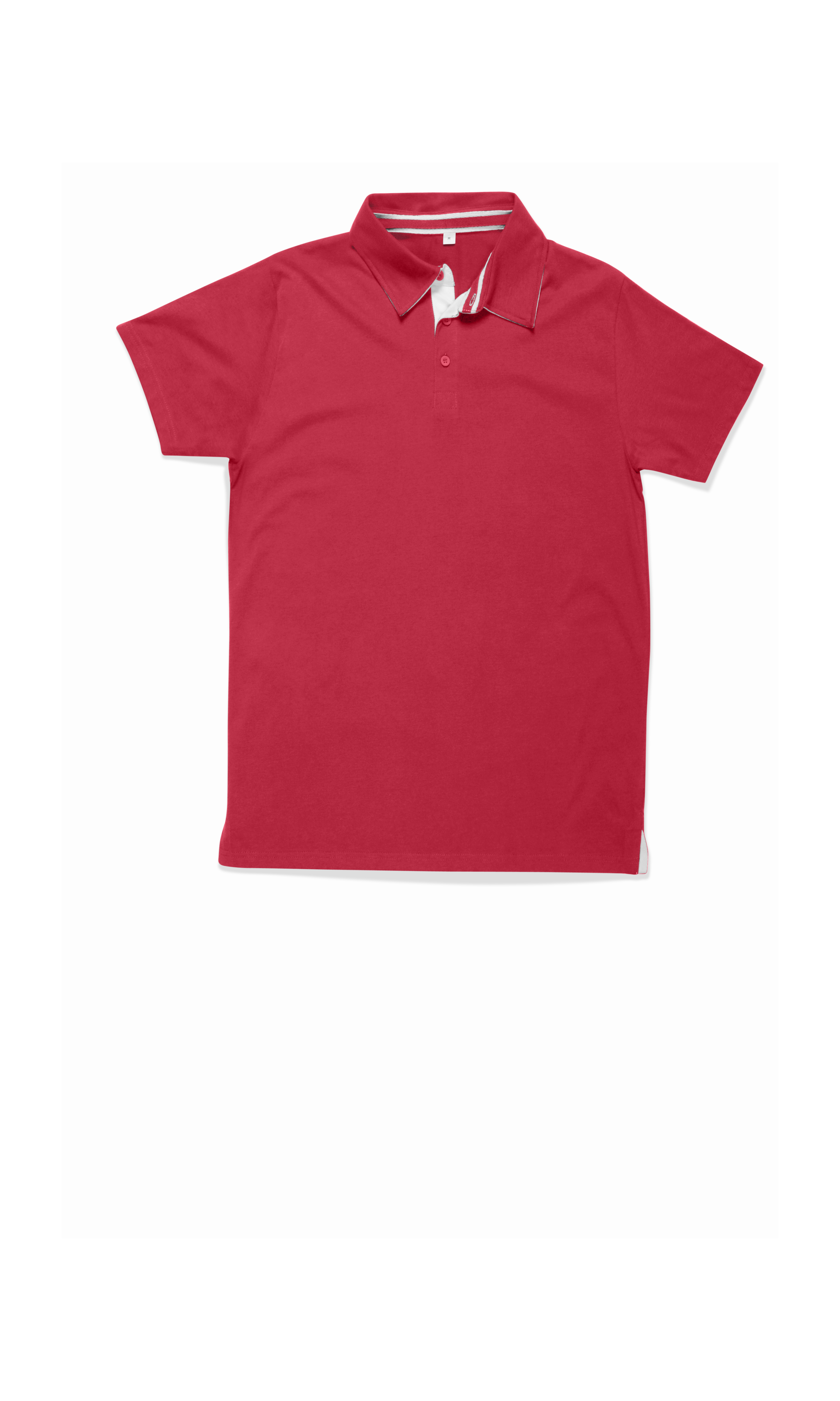 Mens Supersoft Rugby Top - Warm Red - XXL