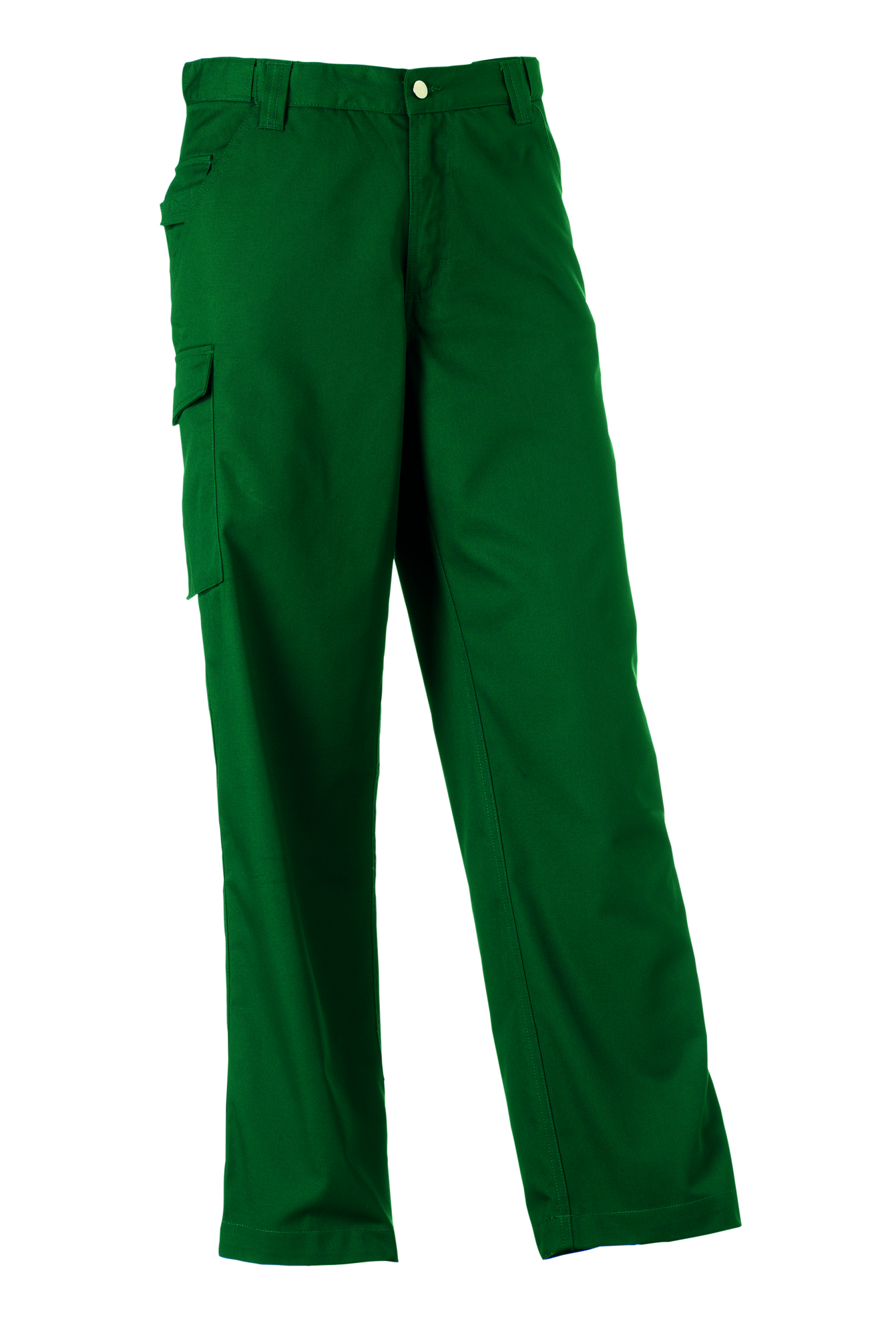 Polycotton Twill Trousers - Bottle Green - 28-32
