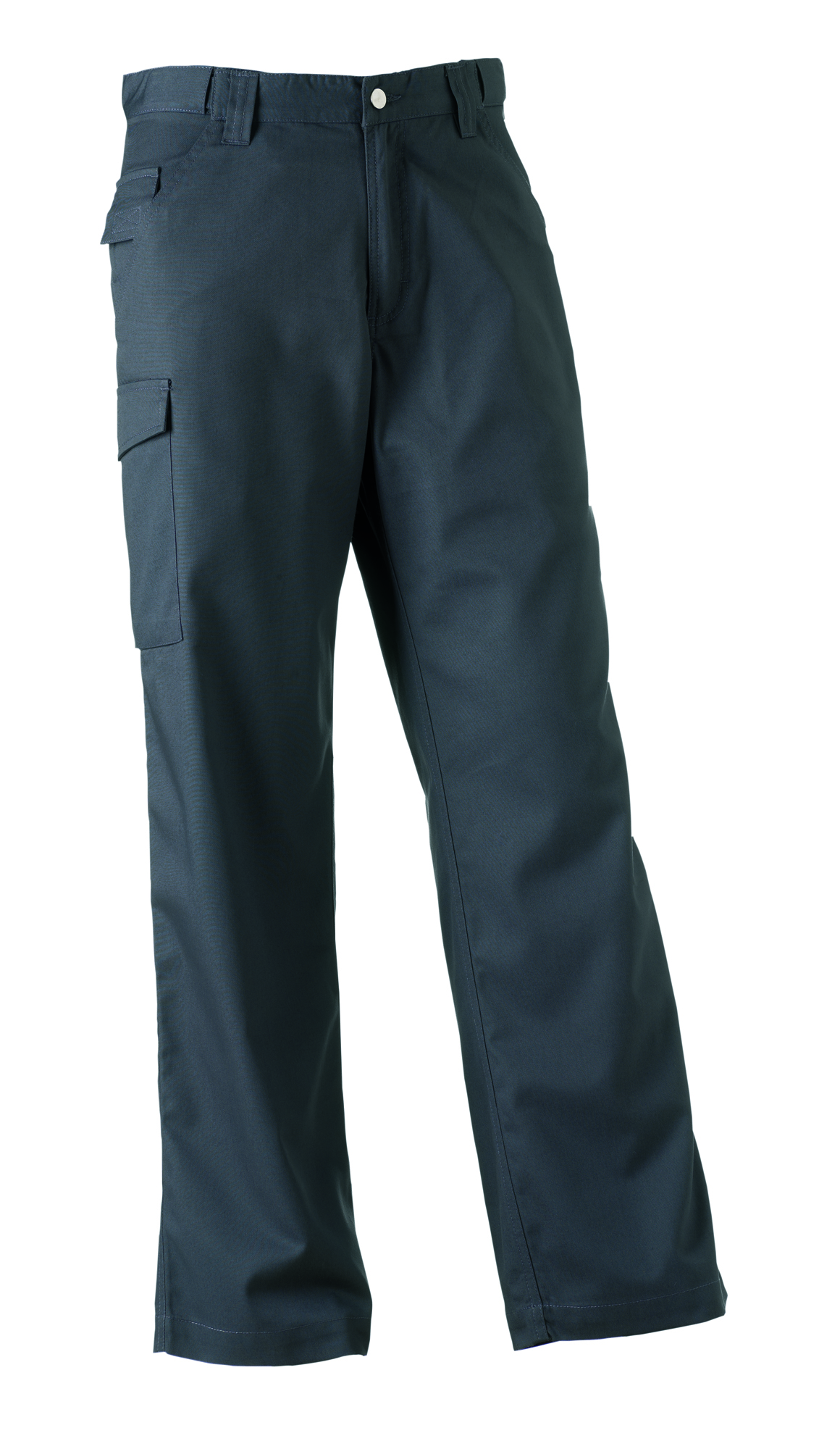 Polycotton Twill Trousers - Convoy Grey - 32-32