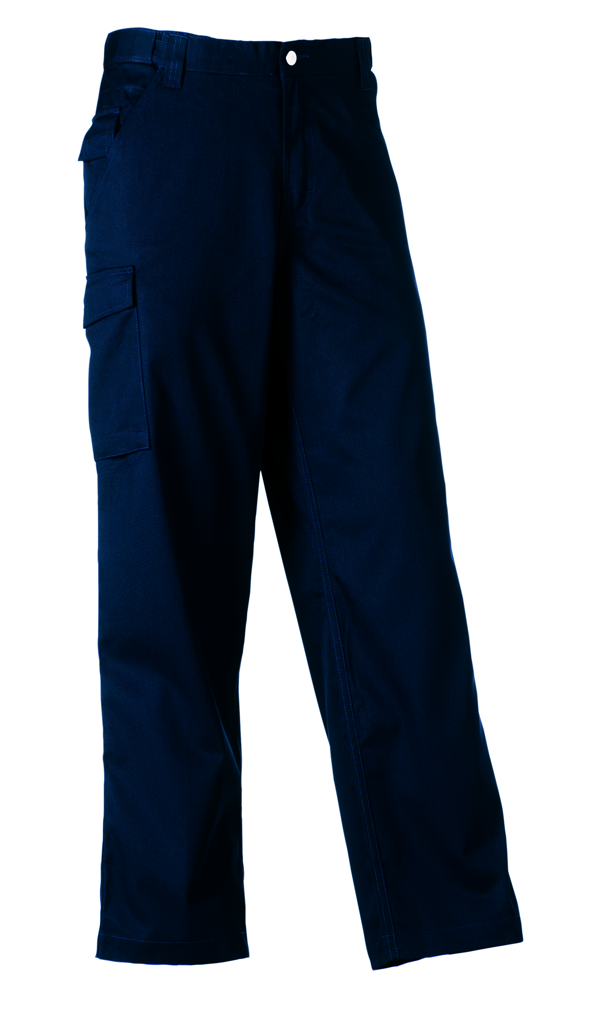 Polycotton Twill Trousers - French Navy - 38-32