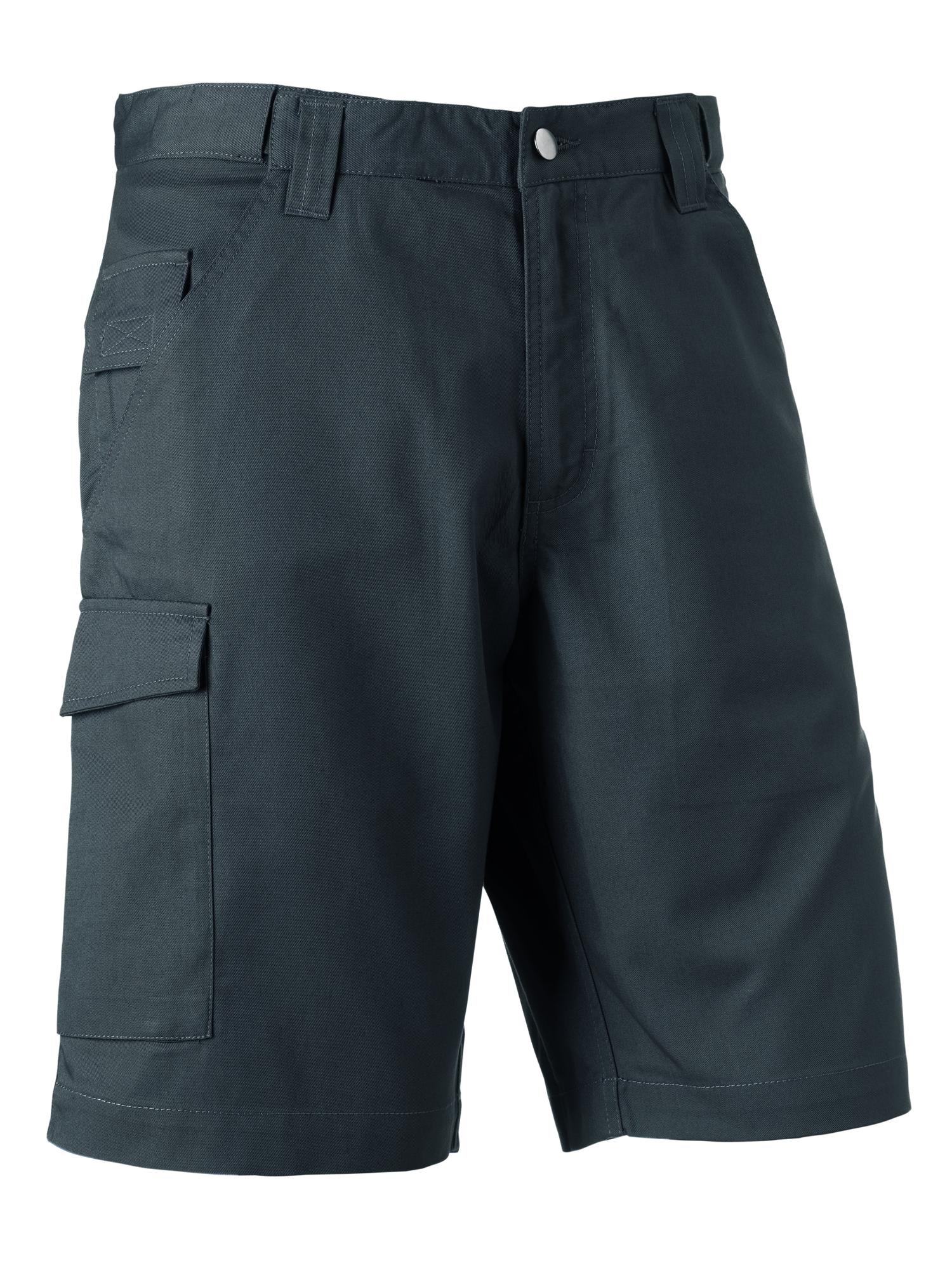 Polycotton Twill Shorts - Convoy Grey - 42