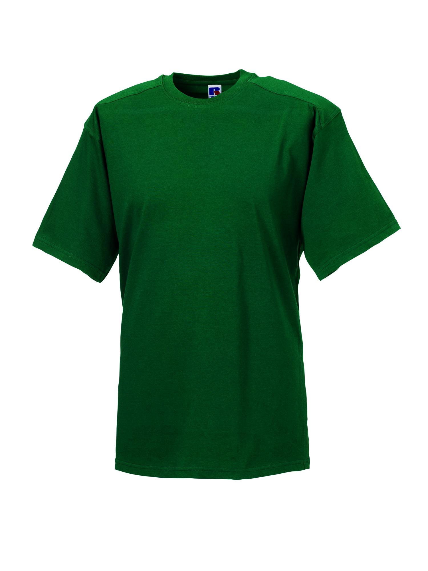 Heavy Duty T-Shirt - Bottle Green - 4XL