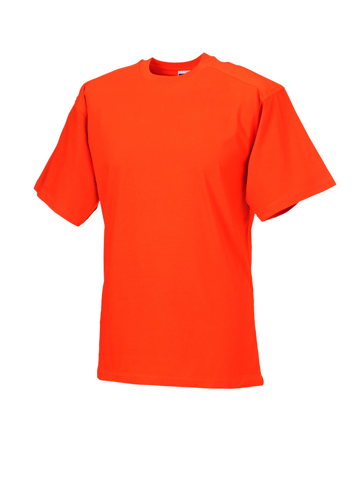 Heavy Duty T-Shirt - Orange - S