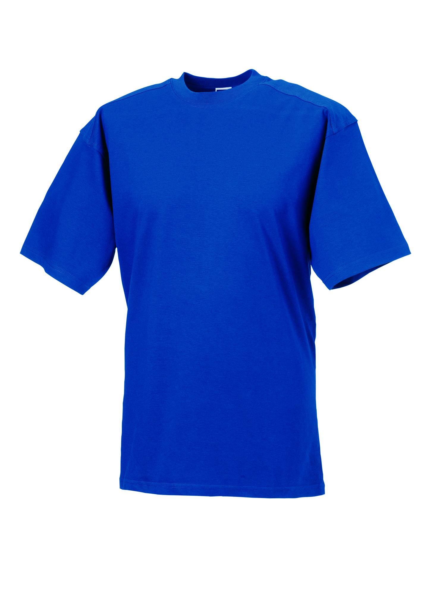 Heavy Duty T-Shirt - Bright Royal - S