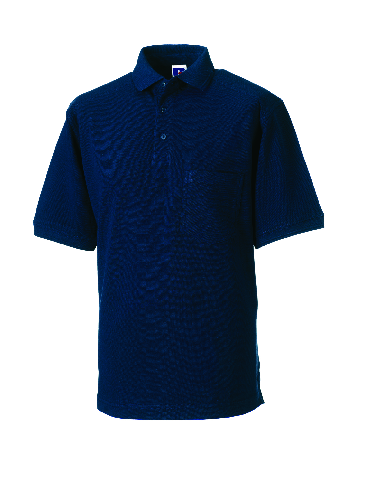Heavy Duty Cotton Polo - Light Oxford - XS