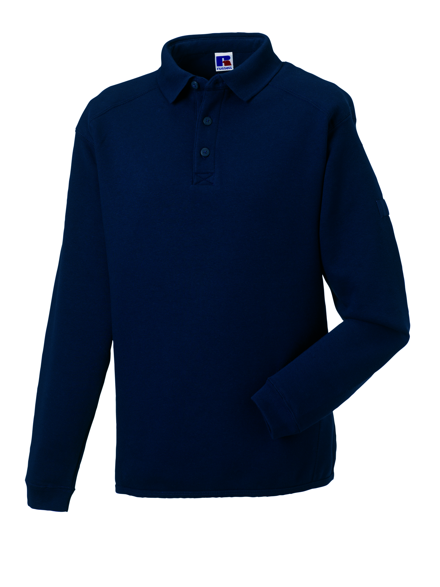 Heavy Duty Collar Sweatshirt - Light Oxford - XS
