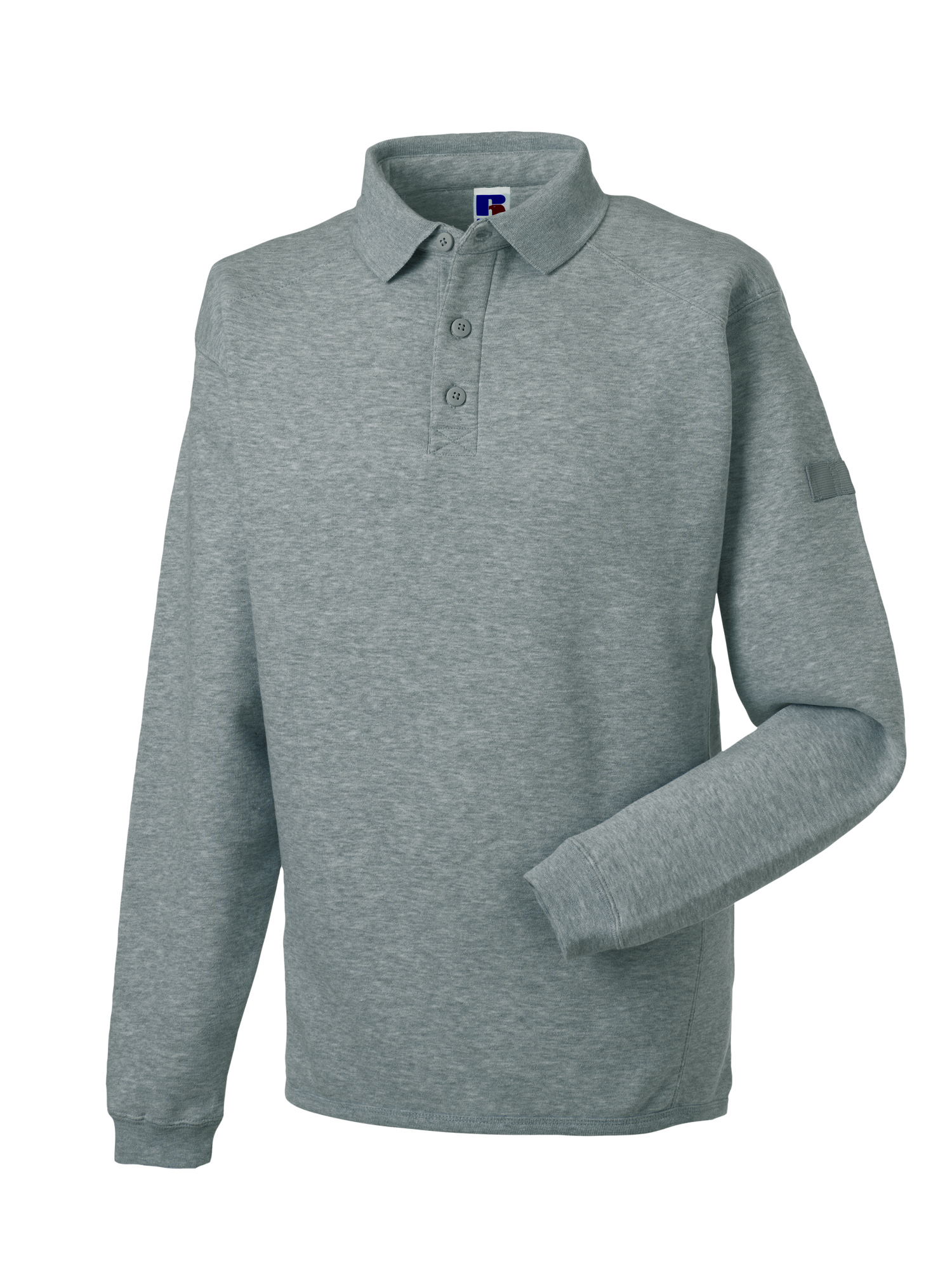 Heavy Duty Collar Sweatshirt - Light Oxford - S