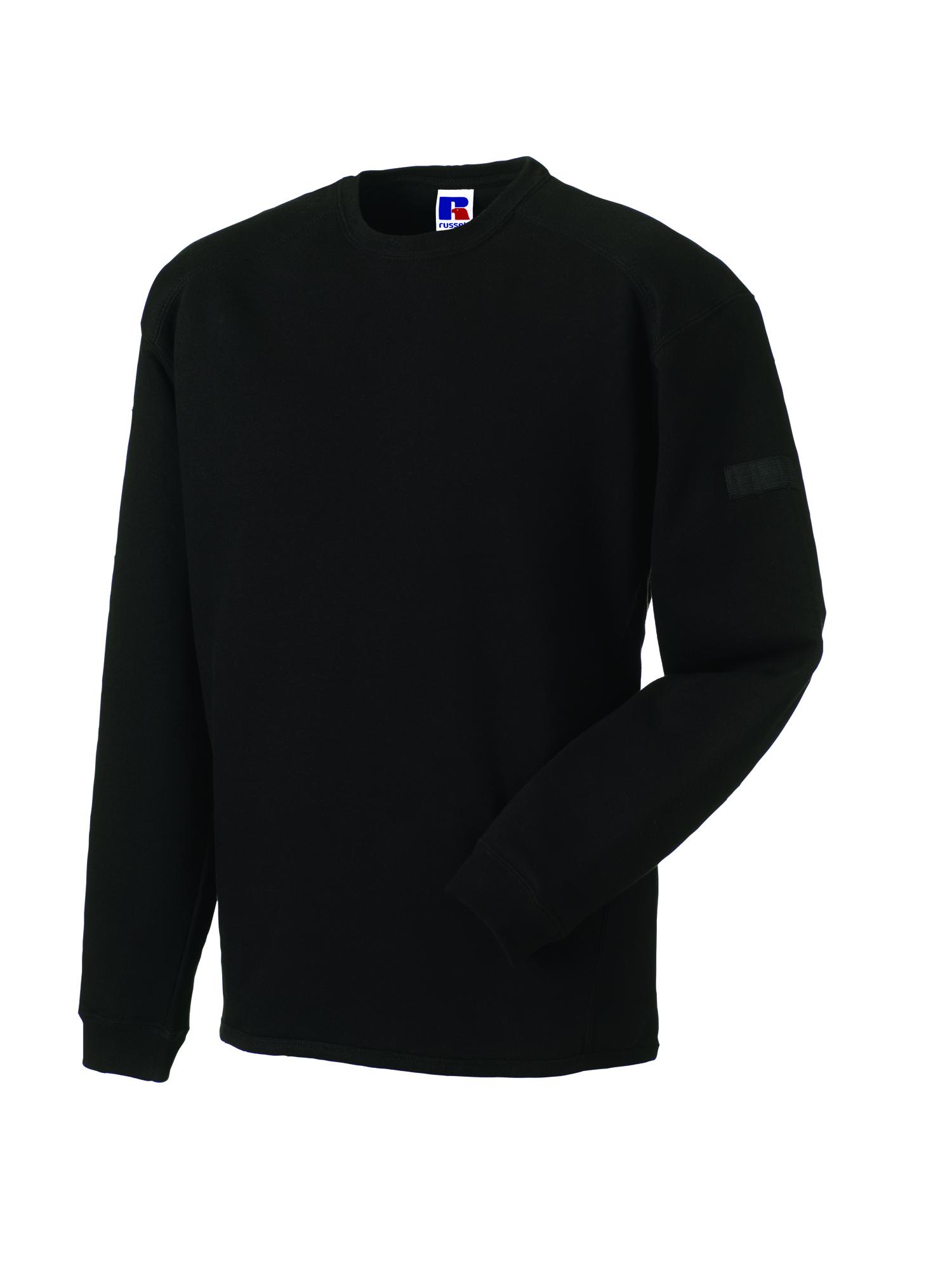 Heavy Duty Crewneck Sweatshirt - Black - L
