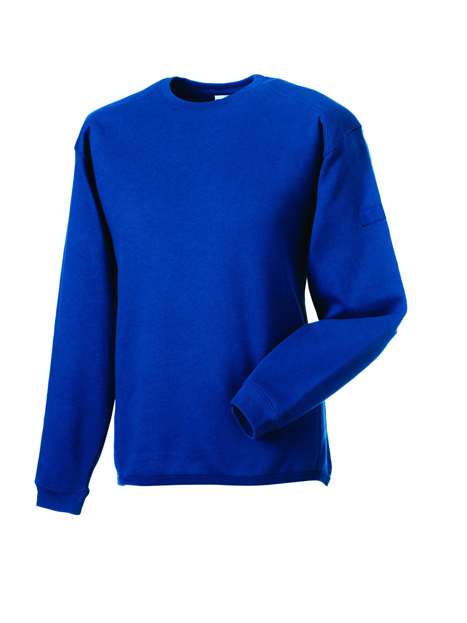 Heavy Duty Crewneck Sweatshirt - Bright Royal - S