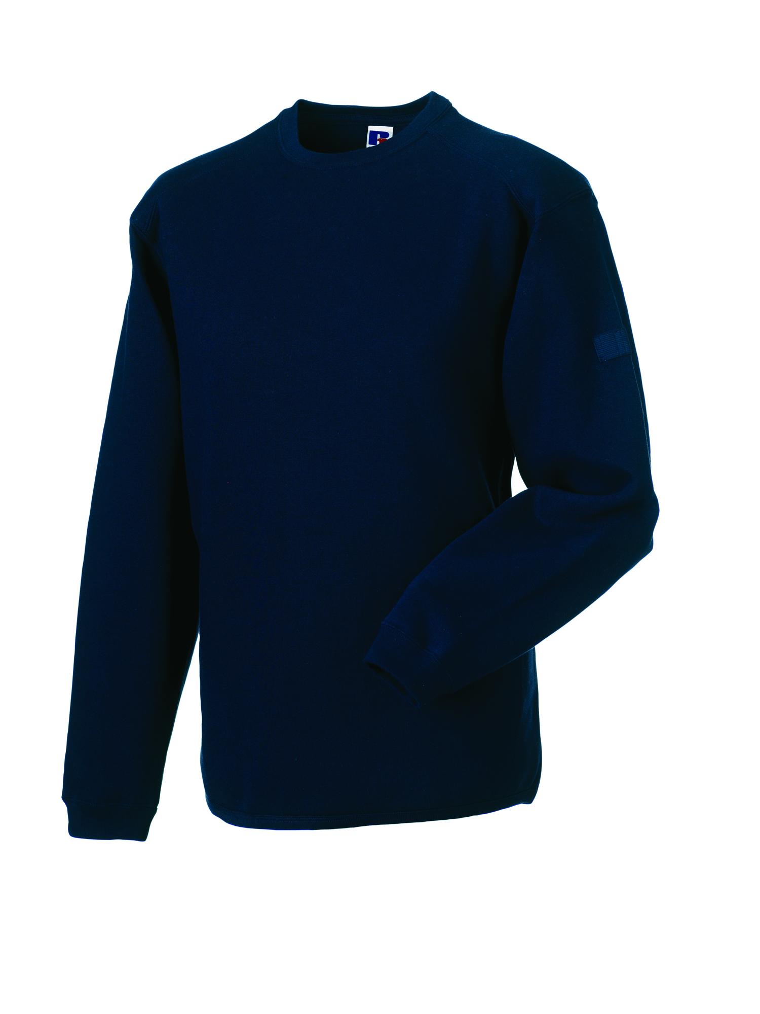 Heavy Duty Crewneck Sweatshirt - Light Oxford - XS