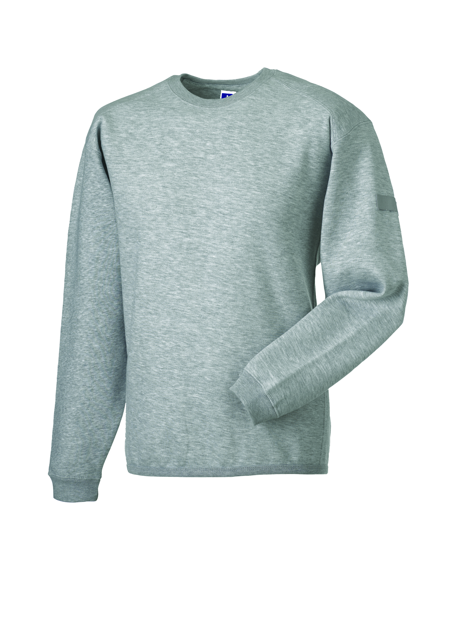 Heavy Duty Crewneck Sweatshirt - Light Oxford - S