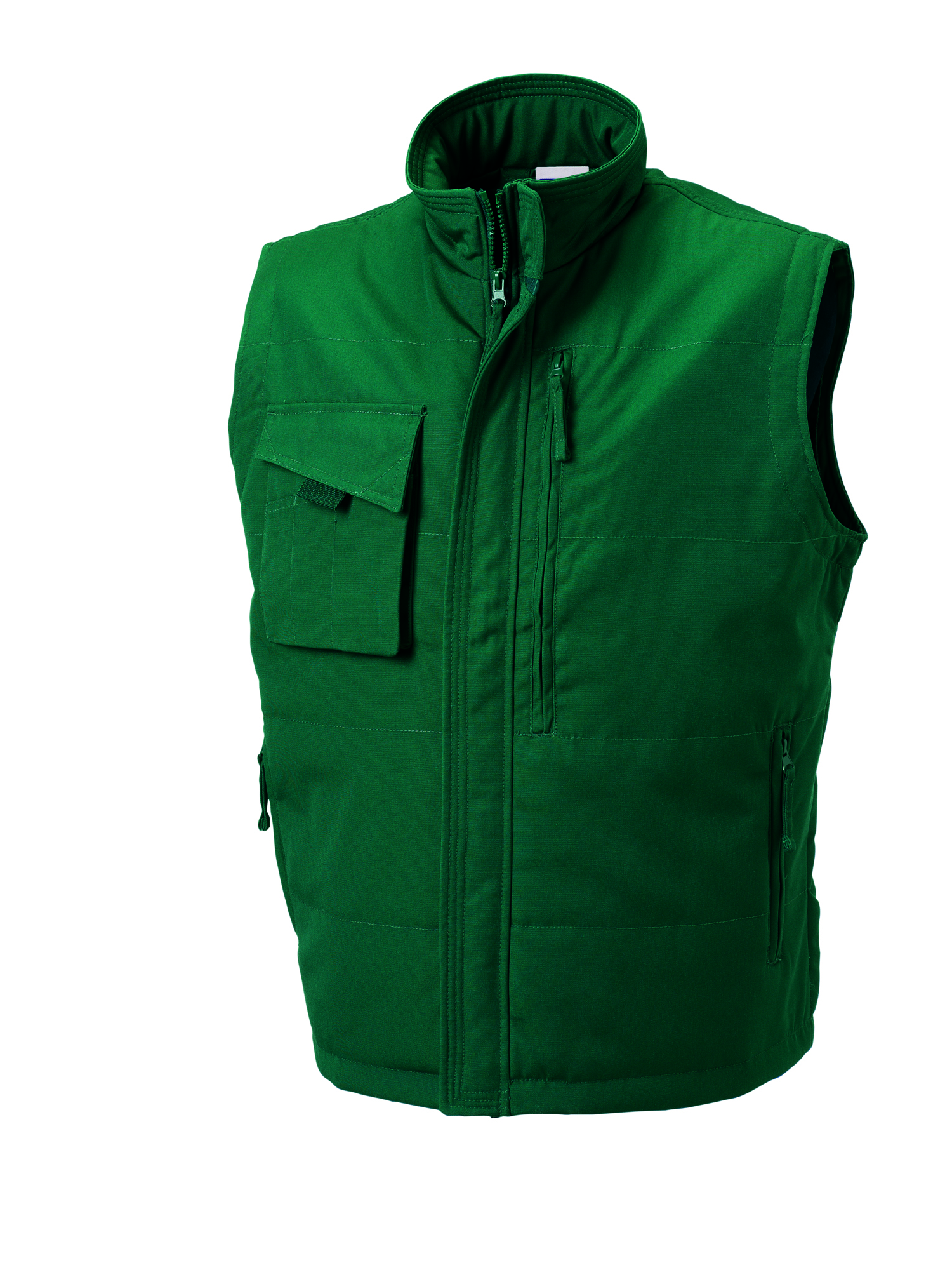 Heavy Duty Gilet - Bottle Green - S