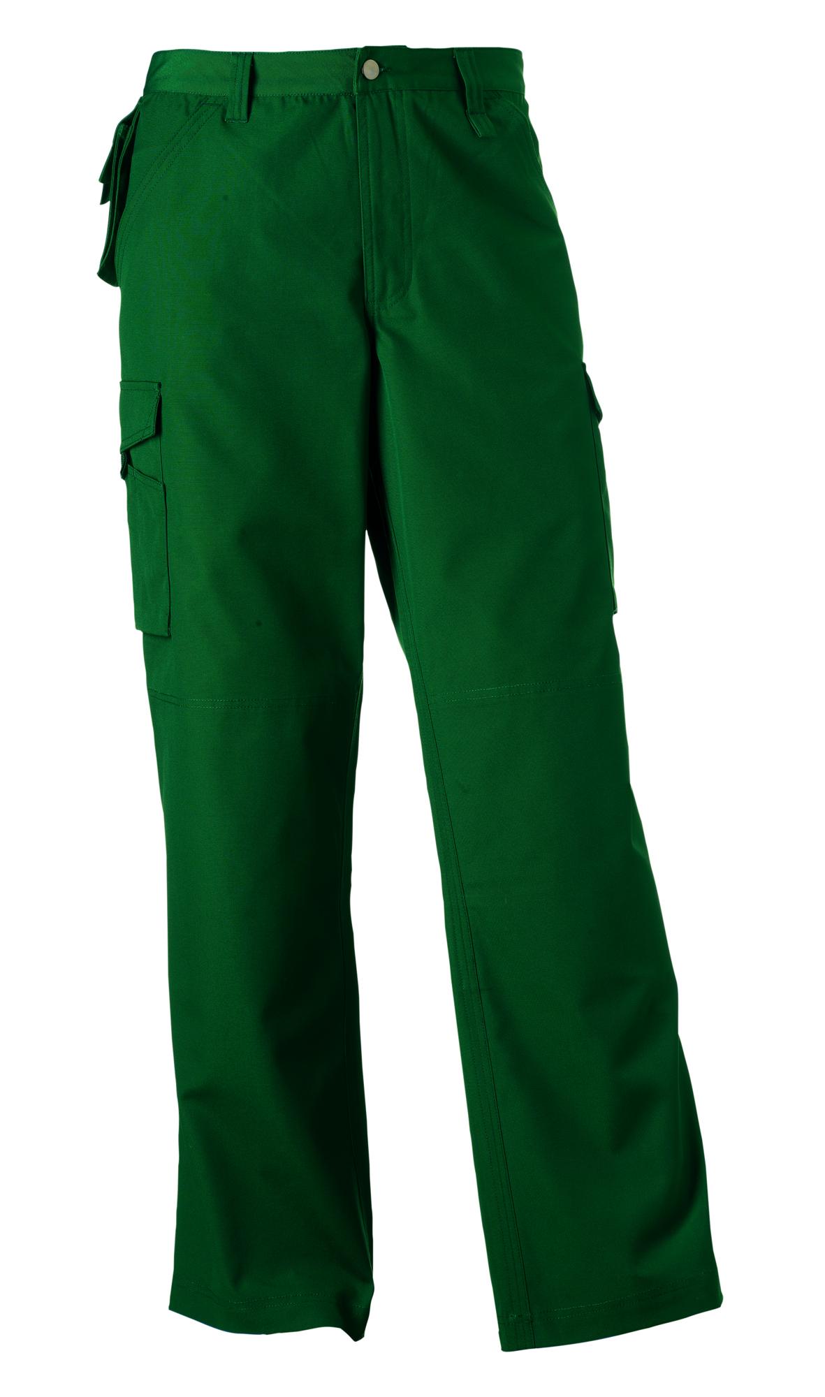 Heavy Duty Trousers  - Bottle Green - 32-30