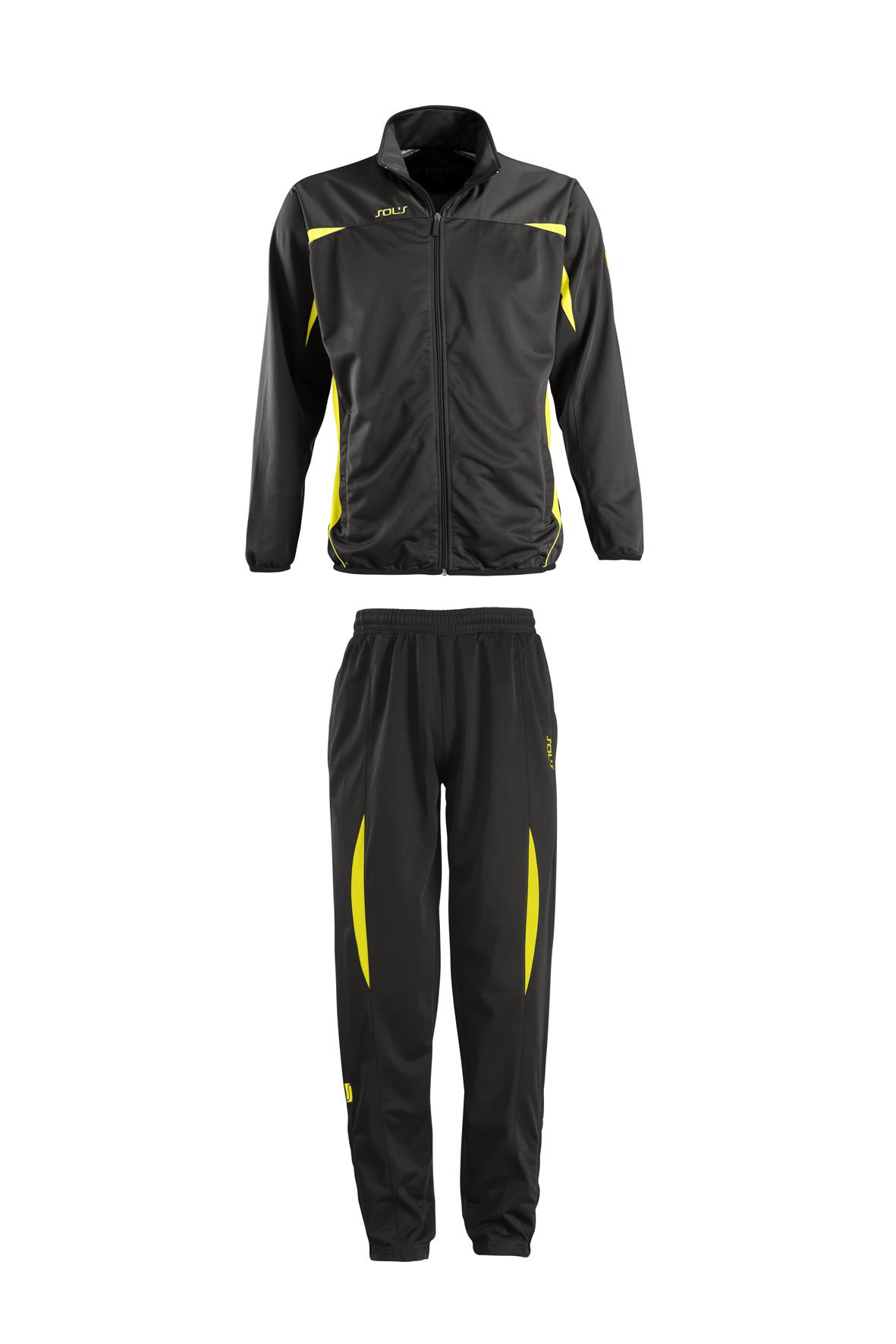 Camp Nou - Black/Lemon/Black - S