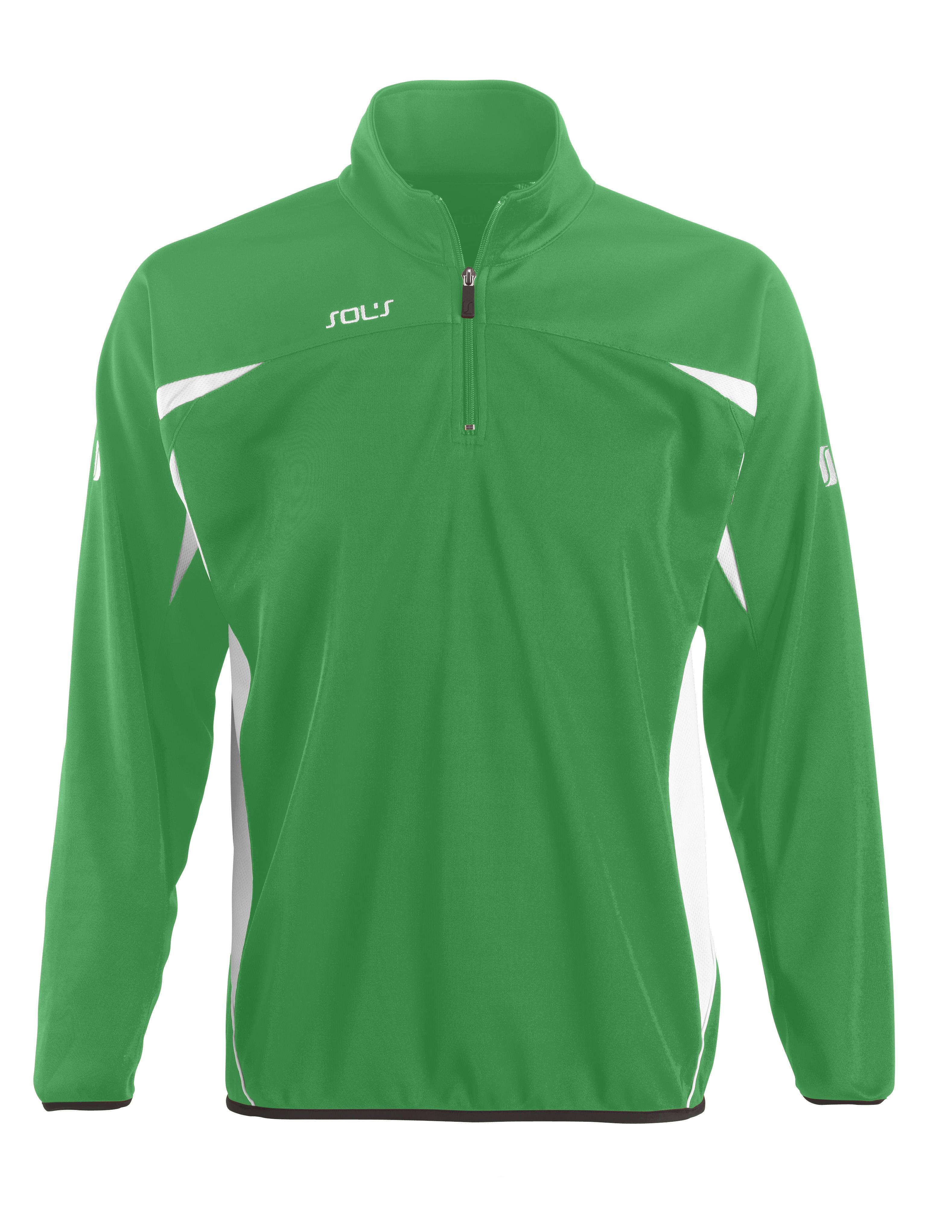 Bernabeu Sweat - Bright Green/White - M